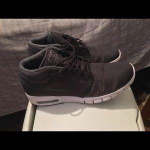 Nike SB Stefan Janoski Max Mid Black/Grey 10.5
